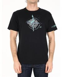 Stone Island Logo T-shirt Black