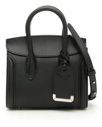 Alexander McQueen Heroine Tote Bag - Black