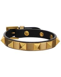 Valentino Garavani Rockstud Buckle Bracelet - Metallic