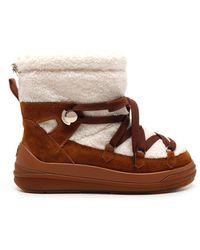 Moncler Florine Snow Boots - Natural