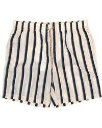 Dolce & Gabbana Drawstring Striped Swim Shorts - Multicolor