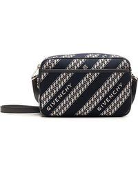 Givenchy Chain Bond Camera Bag - Blue