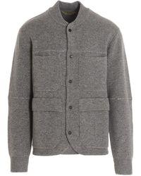Z Zegna Vyd61zz158k95 Other Materials Sweater - Gray