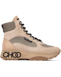 Jimmy Choo Hiking Boots - Natural