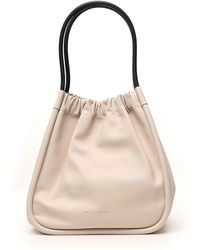 Proenza Schouler Ruched Tote Bag - Natural
