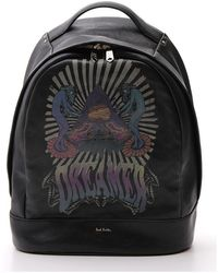 Paul Smith Dreamer Logo Print Backpack - Black
