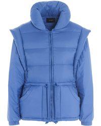 Isabel Marant Darsha Down Jacket - Blue