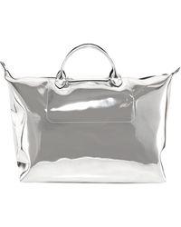 Longchamp Le Pliage Large Travel Bag - Metallic