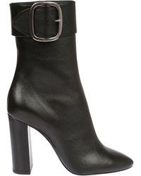 Saint Laurent Joplin Ankle Boots - Black