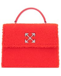 Off-White c/o Virgil Abloh 2.8 Jitney Top Handle Bag - Red