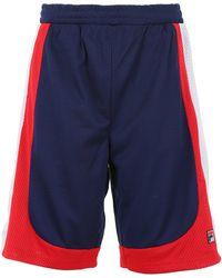 Fila Everly Archive Sport Bermuda Shorts - Blue