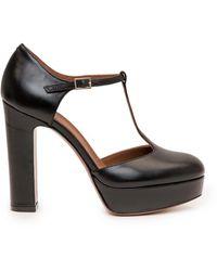L'Autre Chose D'orsey Block Heel Pumps - Black