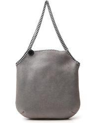 Stella McCartney Falabella Large Tote Bag - Grey