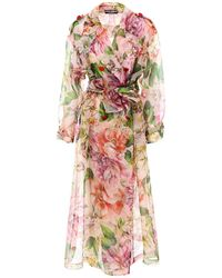 Dolce & Gabbana Floral Print Dress - Multicolour