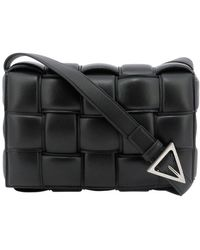 Bottega Veneta Padded Cassette Bag - Black