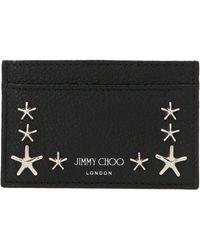 Jimmy Choo - Star Embellished Cardholder - Lyst