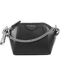 Givenchy Baby Antigona Crossbody Bag - Black