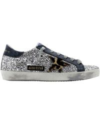 Golden Goose Deluxe Brand Superstar Leather-trimmed Trainers - Multicolour