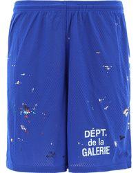 "GALLERY DEPT. ""studio Gym"" Shorts - Blue"
