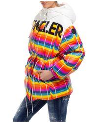 Moncler Genius Moncler X Richard Quinn Mia Logo Jacket - White