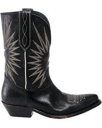 Golden Goose Deluxe Brand Texan Boots - Black