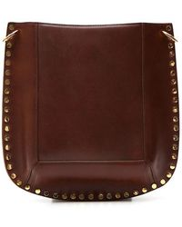 Isabel Marant - Studded Satchel Bag - Lyst