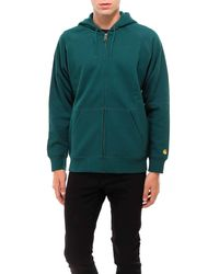 Carhartt WIP Chase Hooded Jacket - Green