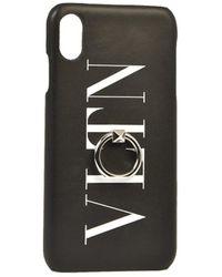 Valentino Garavani Iphone Xs Max Cover - Black