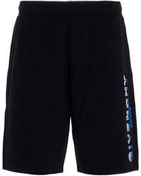 Givenchy Logo Track Shorts - Black