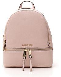 MICHAEL Michael Kors Small Rhea Backpack - Pink