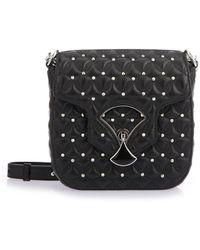 BVLGARI - Black Leather Handbag - Lyst