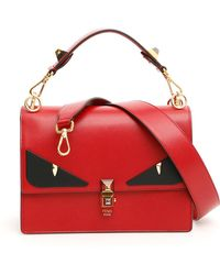 Lyst - Fendi Bag Bug Monster Tote Bag in Red ae59ddd0bee63