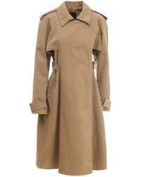 Givenchy Linen And Cotton Trench - Natural