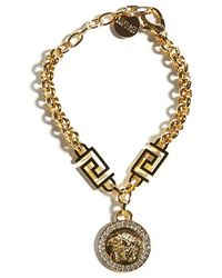 Versace Icon Medusa Bracelet - Metallic