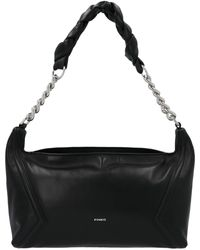 Pinko Hobo Medium Shoulder Bag - Black