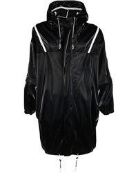 Givenchy Oversized Hooded Parka Coat - Black