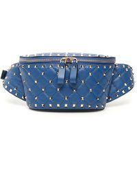 Valentino Valentino Garavani Rockstud Belt Bag - Blue