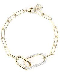 Swarovski Time Chain Bracelet - Metallic