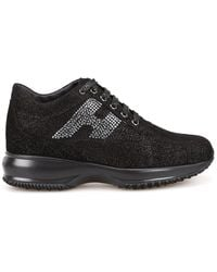 Hogan Interactive Sneakers - Black