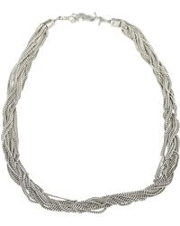 Saint Laurent - Loulou Necklace - Lyst