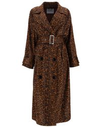 Stand Studio Shelby Trench Coat - Brown