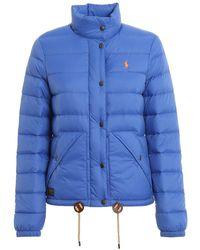 Polo Ralph Lauren Quilted Puffer Jacket - Blue