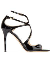 Jimmy Choo Lance Sandals - Black