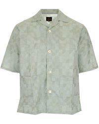 Needles - Graphic Print Short-sleeve Shirt - Lyst