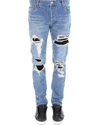 5af3400a Balmain Jeans - Men's Balmain Jeans on Sale Online Sale - Lyst