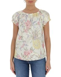 See By Chloé Spring Fruits Printed Top - Multicolor