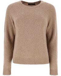Weekend by Maxmara Crewneck Sweater - Brown