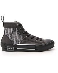Dior Homme B23 High Top Sneakers - Black