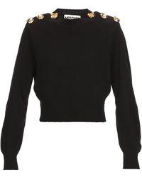 Moschino Sweaters Black