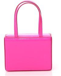 AMINA MUADDI Super Amini Giorgia Mini Tote Bag - Pink